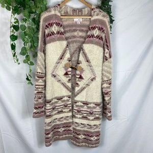 Skrinking Violet Vintage soft long sweater